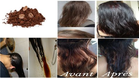 comment foncer la couleur de ses cheveux avec du cafe