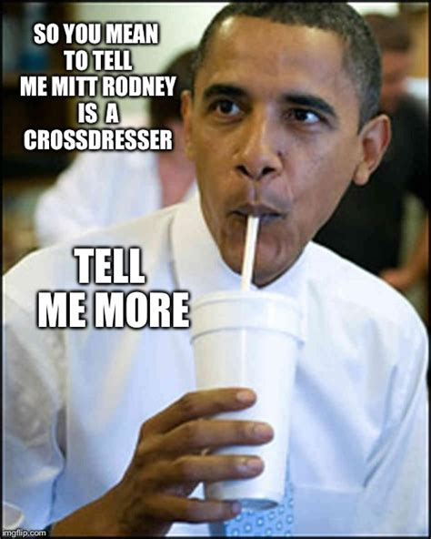 Tell Me Meme - obama soda imgflip
