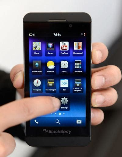 wolverton new blackberry z10 checks the boxes but lacks pizazz the mercury news