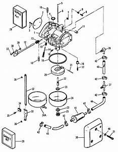 Force 120 Hp  1990-1994  Carburetor  0e009500