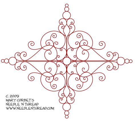 embroidery designs free free embroidery design scrolly medallion