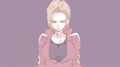 Anime Wallpaper 18 - wallpaper z android 18 anime