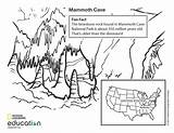 Cave Mammoth Coloring Pages National Geology Animal Education Nationalgeographic Park Animals Bat Preschool Illustration Geographic Bing Vbs Quest sketch template