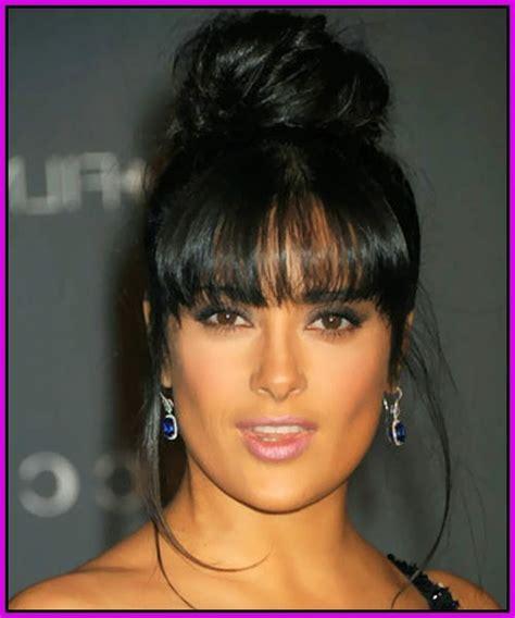 top  black hairstyles  buns  bangs hairstyles