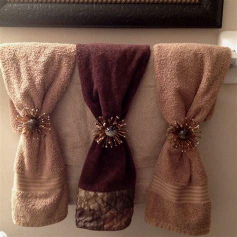 decorative bathroom towels  home ideas