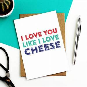 i you like i cheese card by do you punctuate