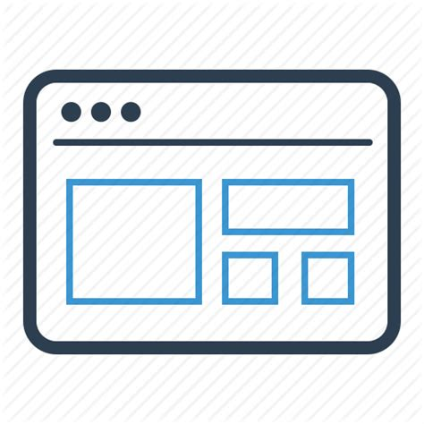 website template icon png iconfinder ikooni outline seo web by laura reen