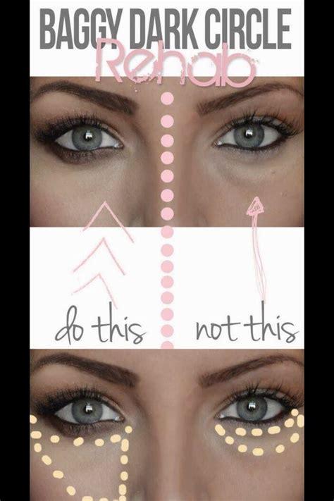 properly  rid   eye bags makeup