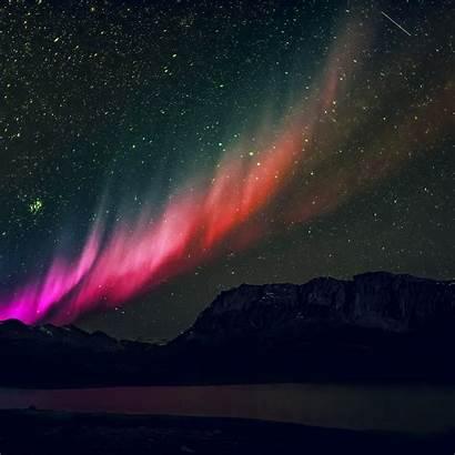 Sky Rainbow Night Nature Aurora Space Mountain