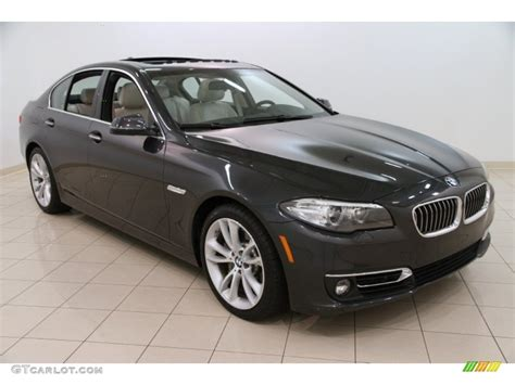 Bmw 5 Series Sedan Photo by Graphite Metallic 2014 Bmw 5 Series 535d Xdrive Sedan