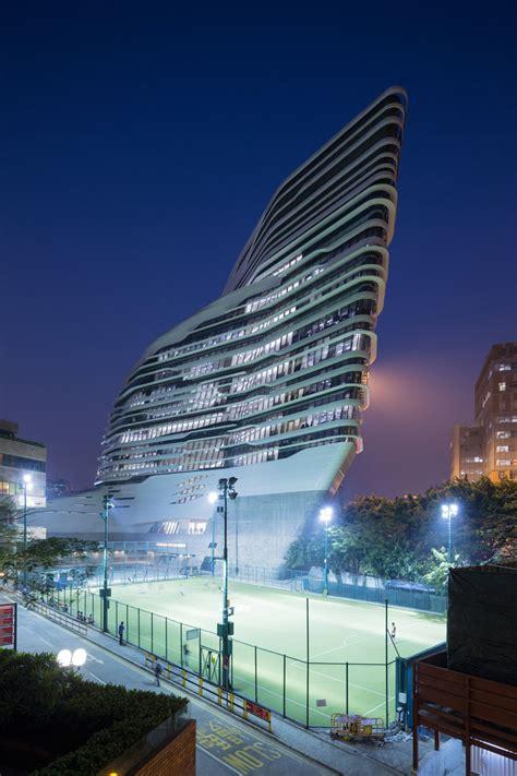 jockey club innovation tower  hong kong  zaha hadid architects