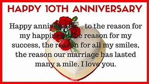 10th wedding anniversary quotes for husband from wife for 10th year wedding anniversary message for my husband