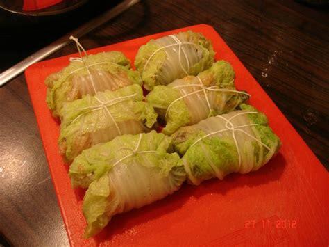 cuisiner du chou chinois chou chinois farci la cuisine sans lactose