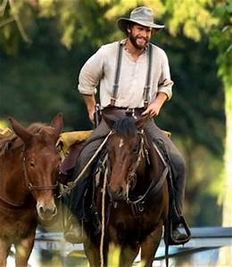Liam Hemsworth Is A Handsome Old Fashioned Cowboy In By