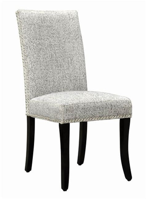 accent nail side chair set   light gray lcdesias