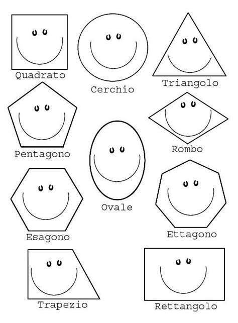 figure da colorare disegni con figure geometriche foto nanopress donna