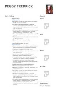 hotel auditor resume auditor resume sles visualcv resume sles database
