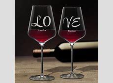 Weingläser Love 2er Set – romantisches Geschenk für