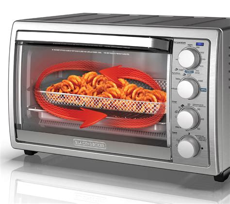 fryer oven toaster air qvc rotisserie decker countertop convection gas stove recipes better1o