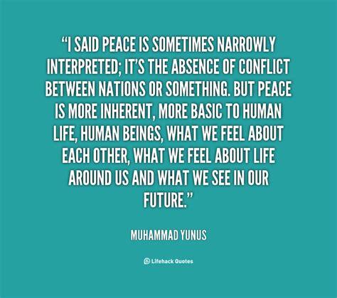 muhammad quotes  peace quotesgram