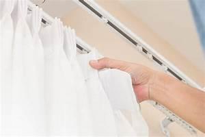 Barre Rideau Fixation Plafond : tringles rideaux ou rails quel choisir rideau discount ~ Premium-room.com Idées de Décoration
