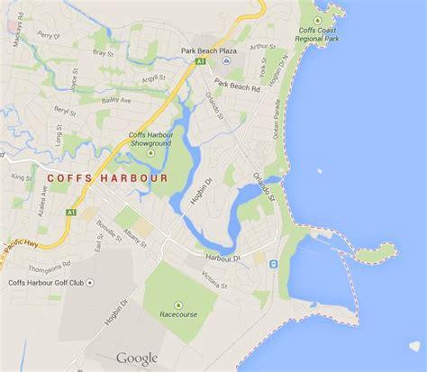 map  coffs harbour