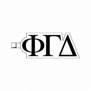 greek letters phi gamma delta plastic greek letter With plastic greek letters
