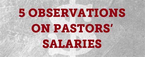 pastors salaries