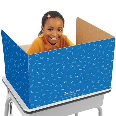cardboard privacy screens for desks student desk privacy shields