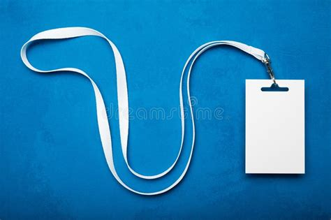 id card holder stock photo image  message life