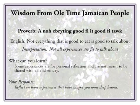 jamaican quotes  meanings quotesgram