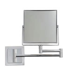 dwell bathroom ideas square extendable mirror from dwell bathroom mirrors housetohome co uk
