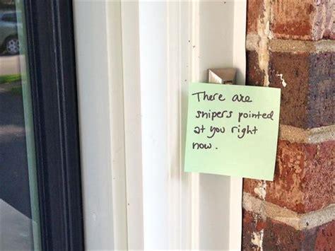 funny front door notes  parent  relate