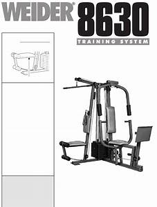 Weider Home Gym Wesy86301 User Guide