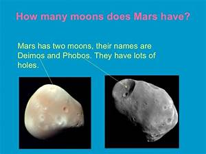 Many Moons Does Mars Have (page 4) - Pics about space