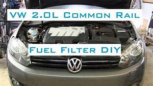 Vw Golf  Jetta Tdi - Fuel Filter Diy W  Vcds - 2009-2014