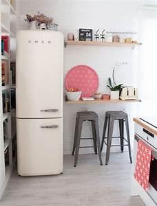 Freistehender Kühlschrank Retro : die besten 25 design k hlschrank ideen auf pinterest graue k che designs k chen design und ~ Yasmunasinghe.com Haus und Dekorationen