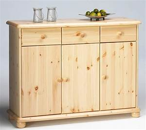 Kommode Anrichte Schrank Sideboard Wschekommode Holz