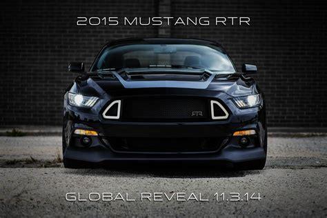 2015 Mustang Rtr Spec Ii