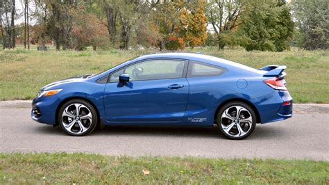 test si鑒e auto 2015 honda civic si test drive review