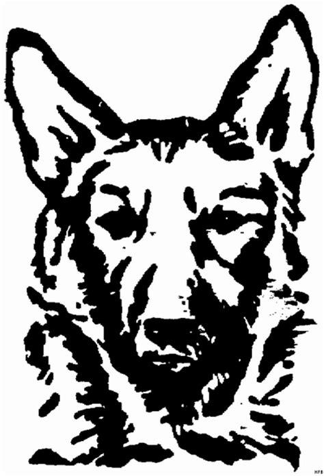 schaeferhund ausmalbild malvorlage tiere