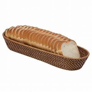 Rattan Bread Basket - Honey Brown