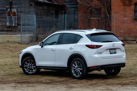 mazda cx  signature inching  closer
