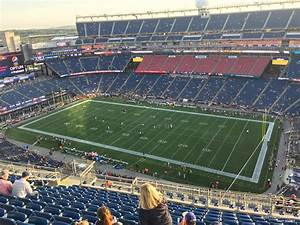 Section 305 At Gillette Stadium New England Patriots