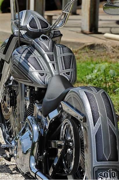Softail Deluxe Harley Davidson 2006 Slammed Lowrider