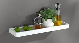 Wandregal Küche Weiß : wandregale wei hochglanz seidenmatt regalraum ~ Watch28wear.com Haus und Dekorationen