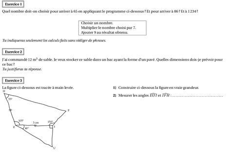 devoir maison de math 4eme correction devoir maison n 176 1 en 5 232 me maths 224 capbreton