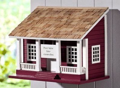 postkasten aus holz briefkasten schwedenhaus aus holz landhaus wandbriefkasten postkasten neu mr postman