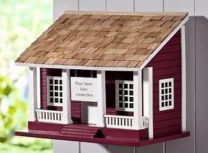 Briefkasten Aus Holz : briefkasten schwedenhaus aus holz landhaus wandbriefkasten postkasten neu please mr postman ~ Udekor.club Haus und Dekorationen