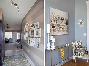 Farbgestaltung Flur Diele : peinture couloir et d coration de l 39 entr e 57 id es en couleurs ~ Orissabook.com Haus und Dekorationen